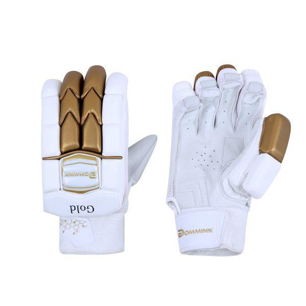 Gold Premium Cricket Batting Gloves